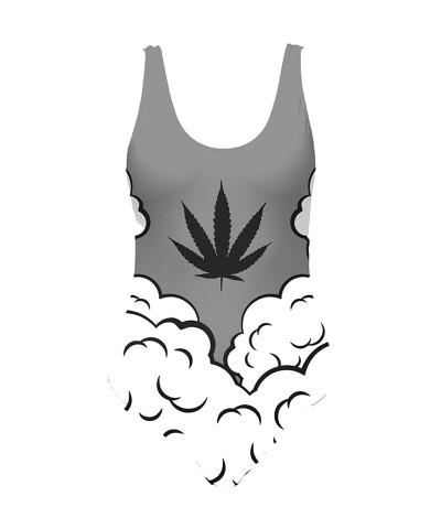 Strój kąpielowy SMOKE WEED