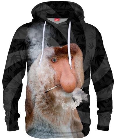 Bluza z kapturem SMOKE JANUSZ BLACK