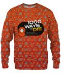 1000 WAYS TO DIE Sweater