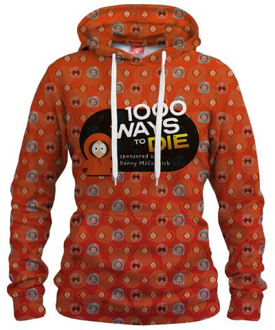 Damska bluza z kapturem 1000 WAYS TO DIE