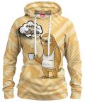 ROCKET SLOTH Womens hoodie