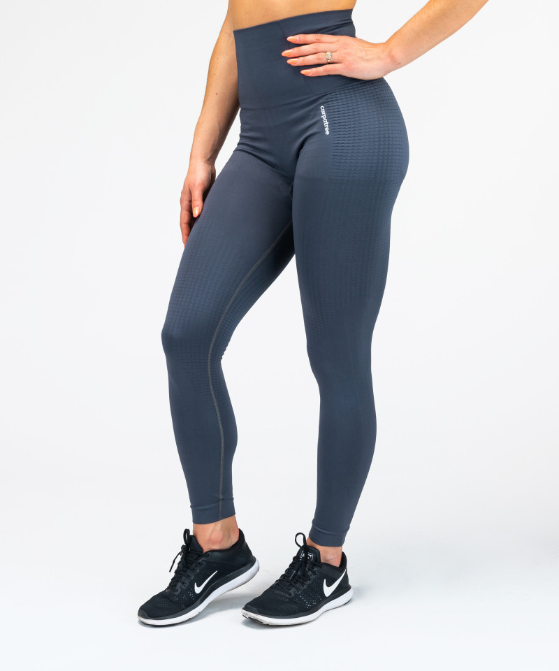 Model One nahtlose Leggings in der Farbe Grapfit