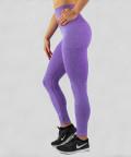 Fioletowe legginsy bezszwowe Model One 2