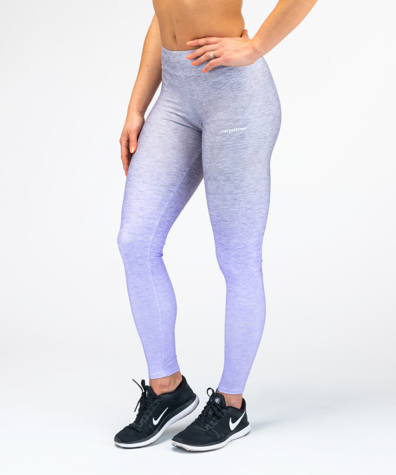 Grey-To-Blue Ombre Leggings