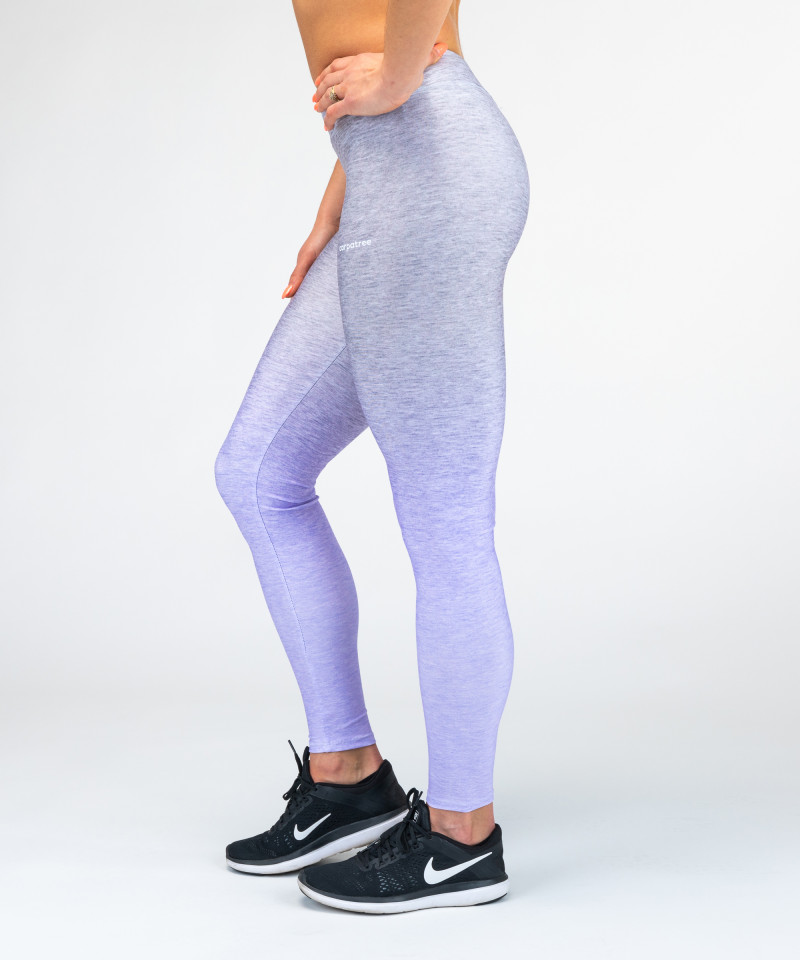 Grey-To-Blue Ombre Leggings 2