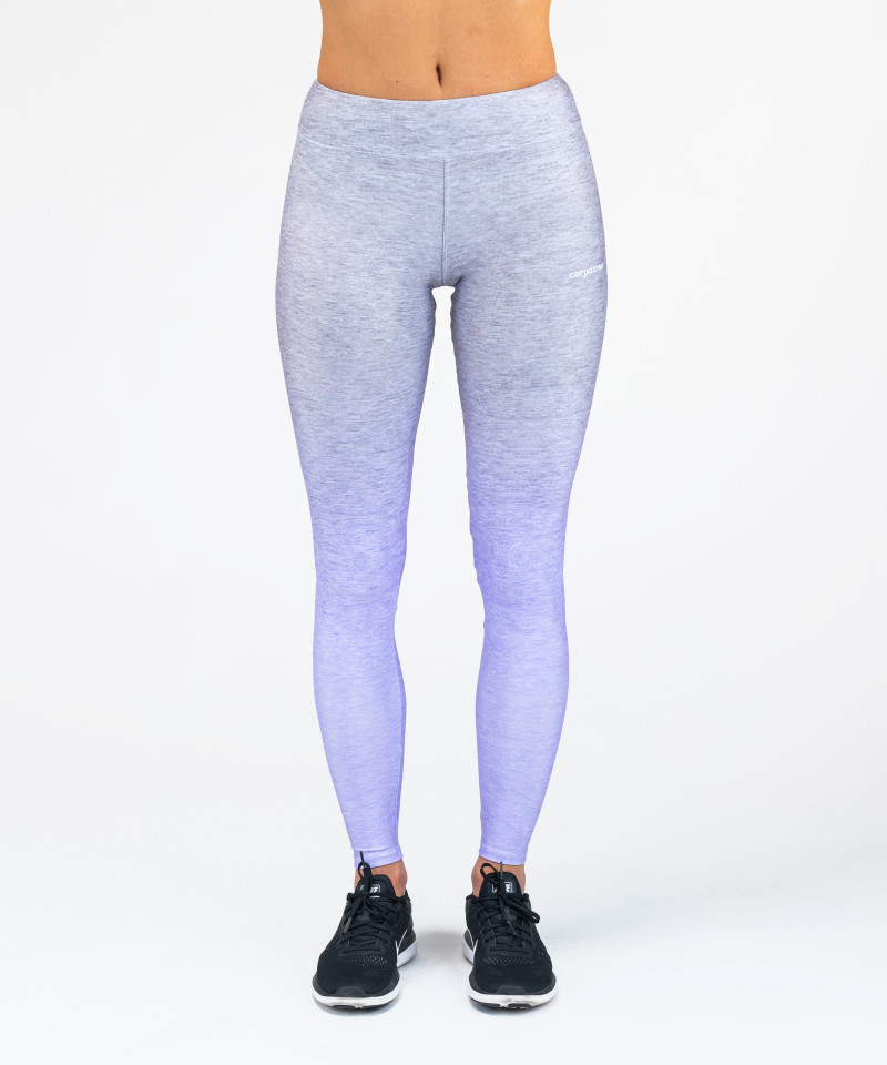 Grey-To-Blue Ombre Leggings 4