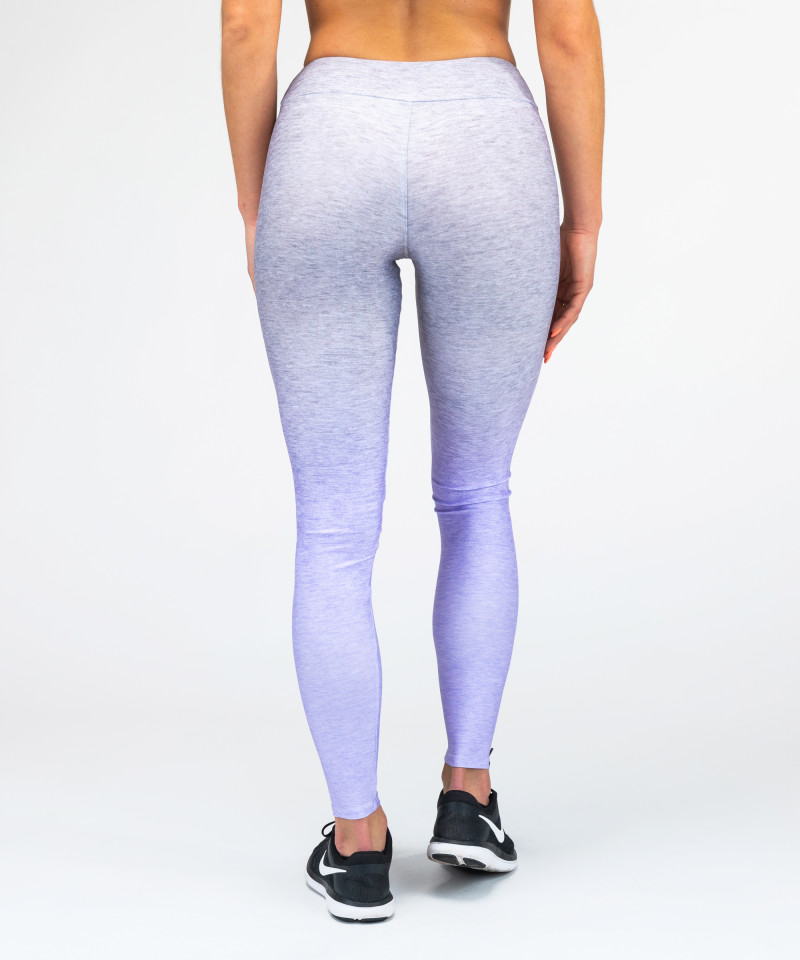 Grey-To-Blue Ombre Leggings 5