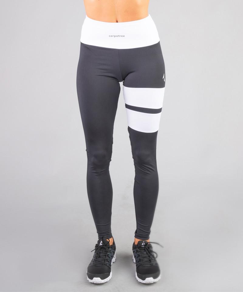 Czarne legginsy Loop 3