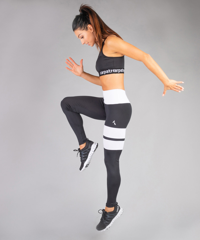 Czarne legginsy Loop 5