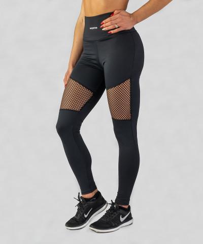 Czarne legginsy Astrid