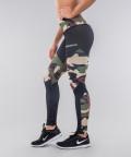 Legginsy Army Camo&Black 2