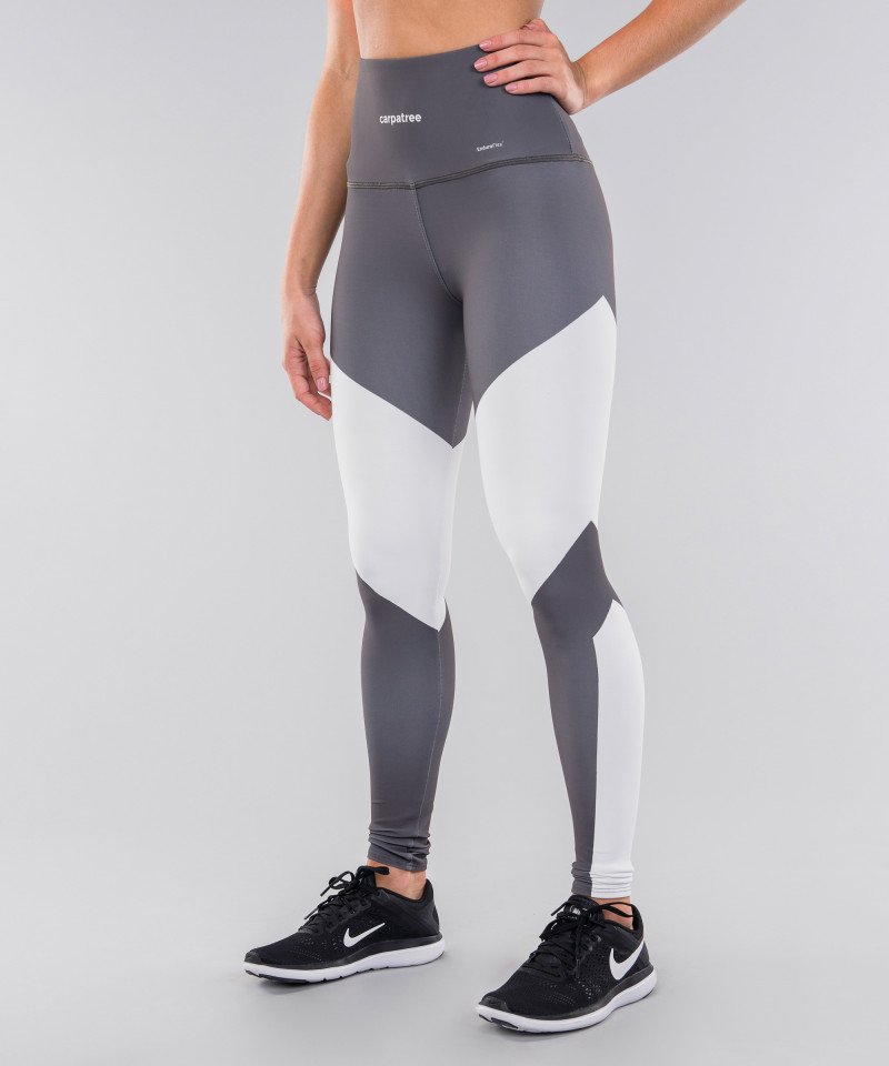 Grey&White Highwaist Leggings