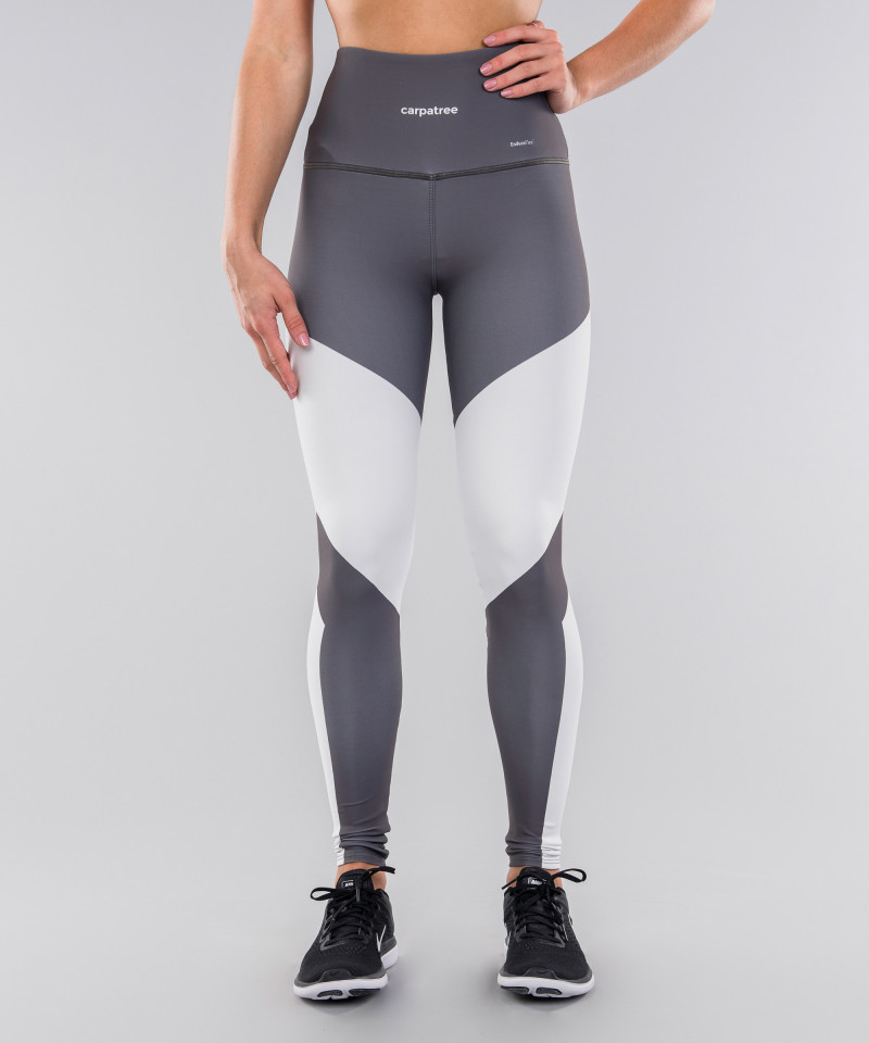Grey&White Highwaist Leggings 4