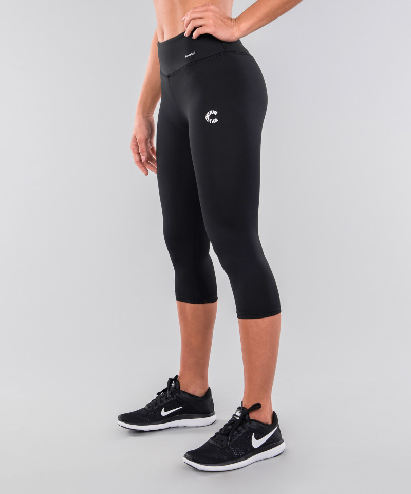 Black Capri Leggings 2