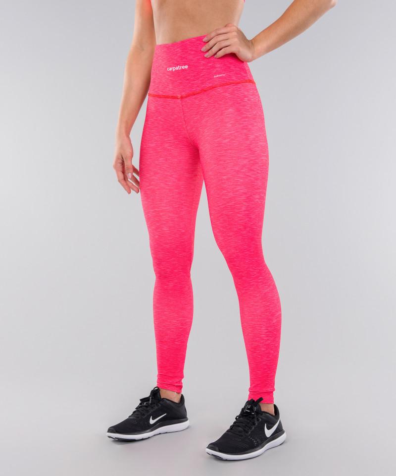 Full Pink Melange Classic Leggings 2