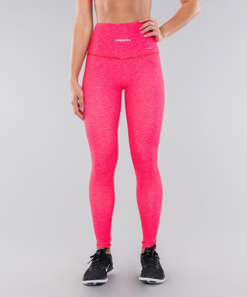 Full Pink Melange Classic Leggings 4