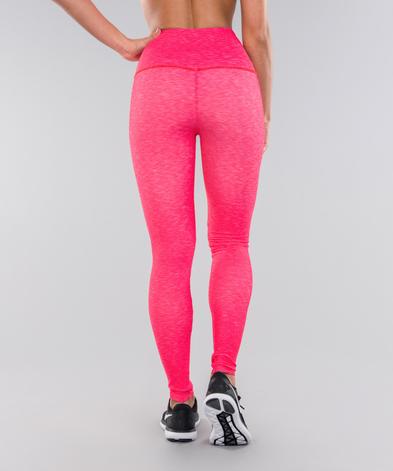 Full Pink Melange Classic Leggings 5