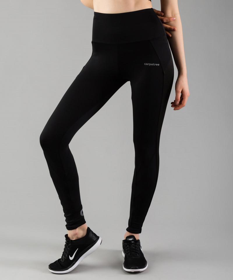 Czarne legginsy Mesh Pocket