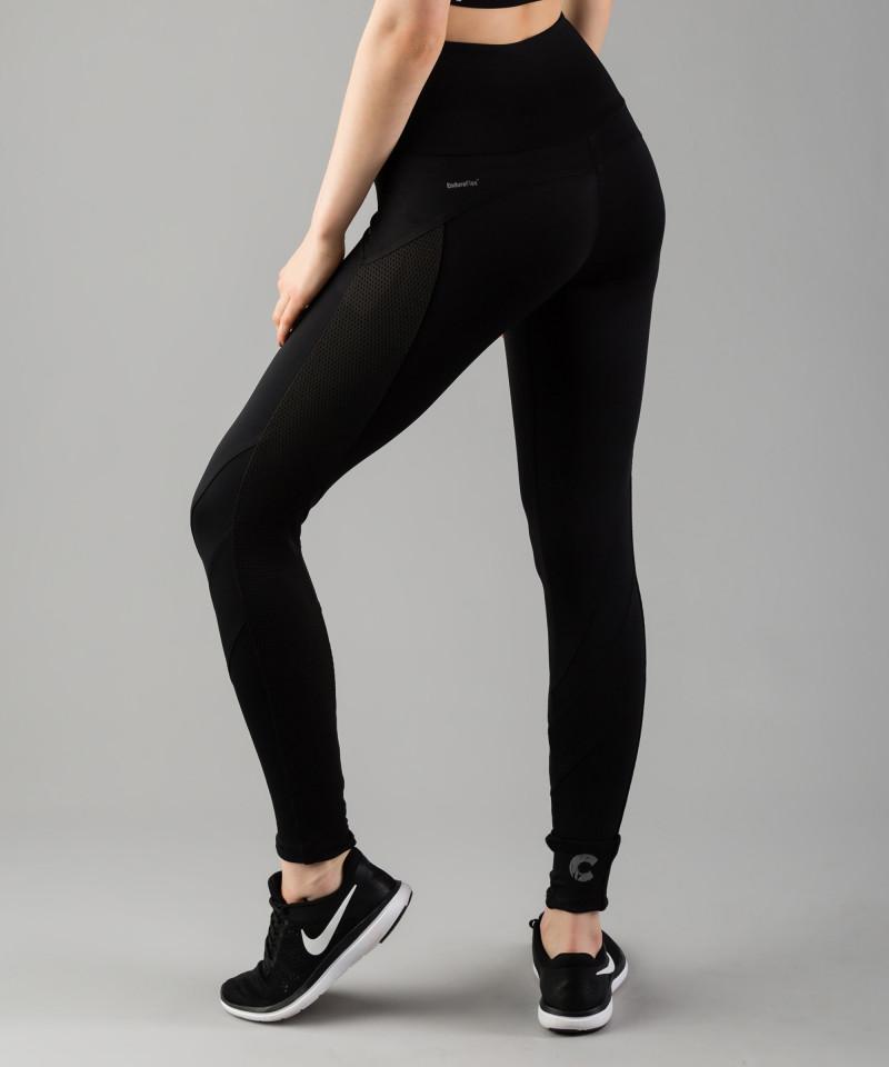 Czarne legginsy Mesh Pocket 3