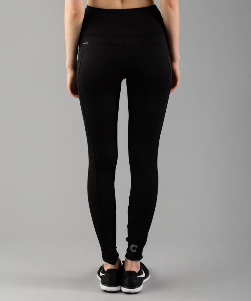 Czarne legginsy Mesh Pocket 5