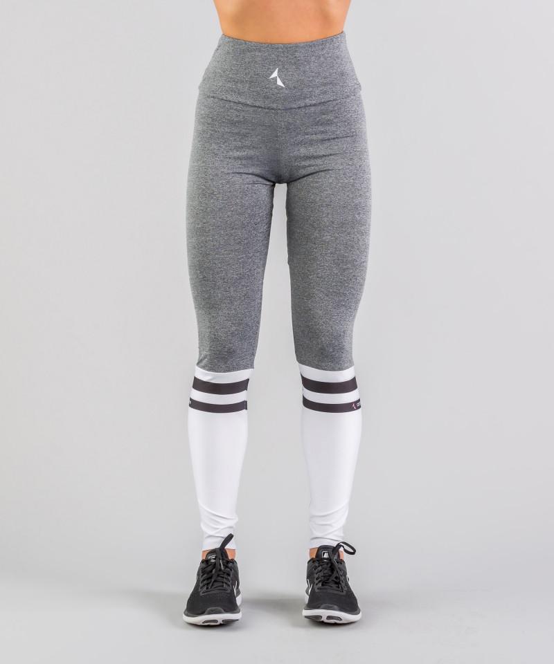 Grey Socks Highwaist Leggings 4