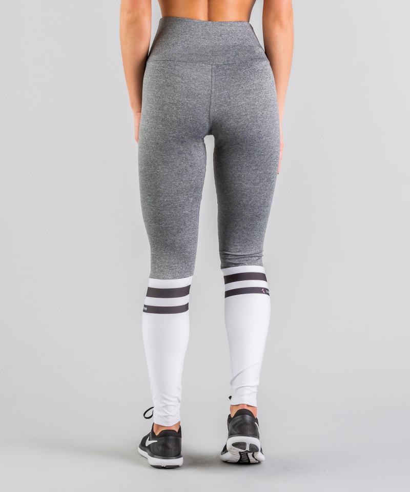 Grey Socks Highwaist Leggings 5
