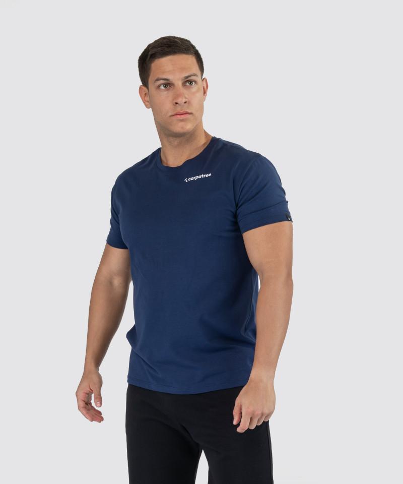 Klasyczny granatowy t-shirt 1