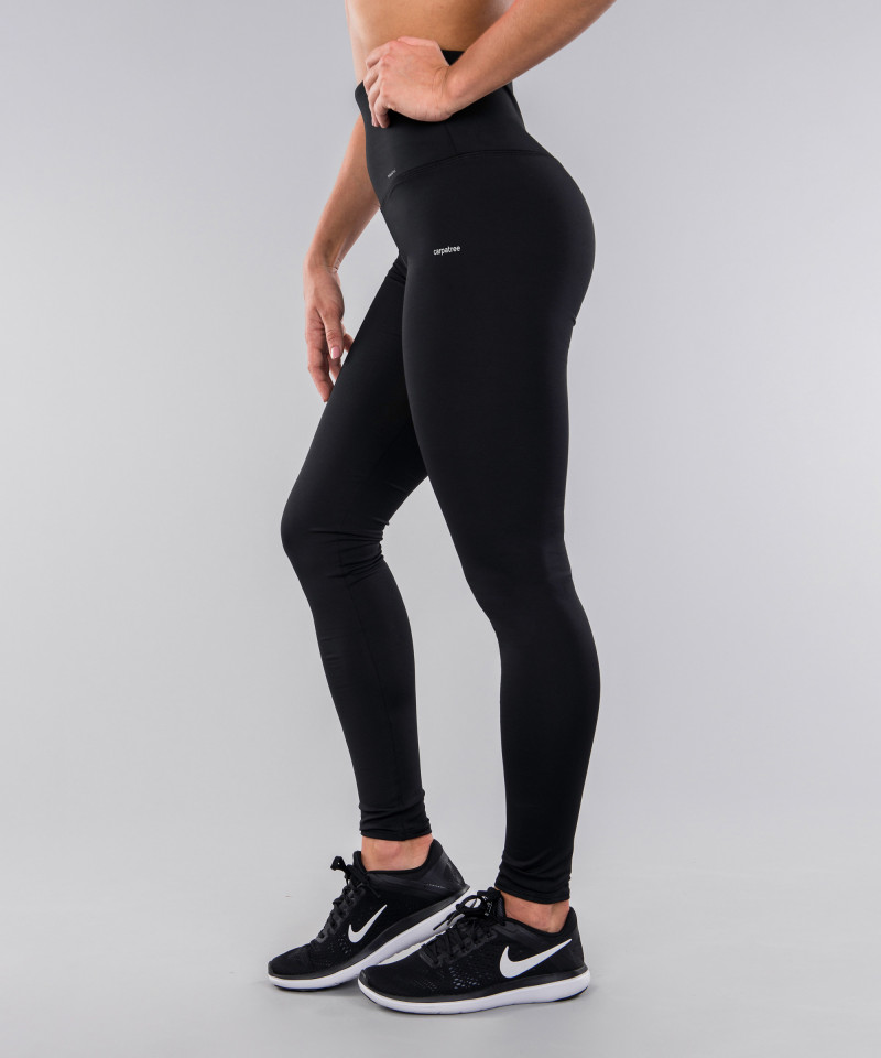Black Classic Highwaist Leggings 2