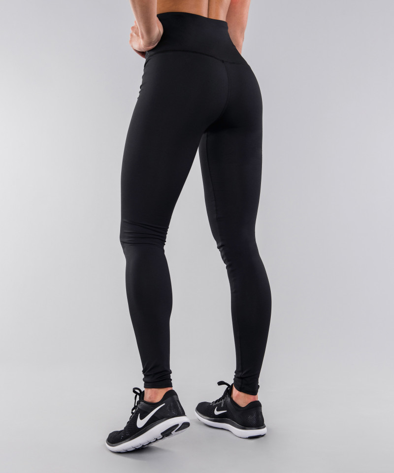 Black Classic Highwaist Leggings 3