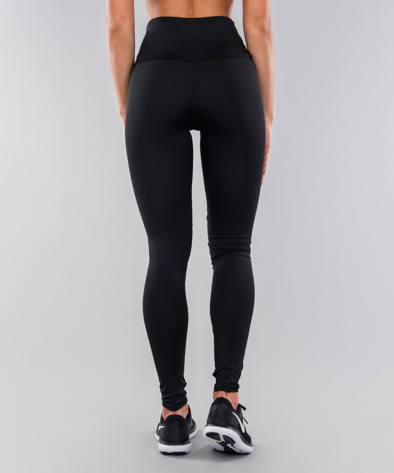 Black Classic Highwaist Leggings 5