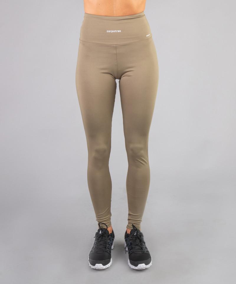 Khaki Classic Highwaist Leggings 3