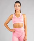 Pastel Pink Classic Sports Bra