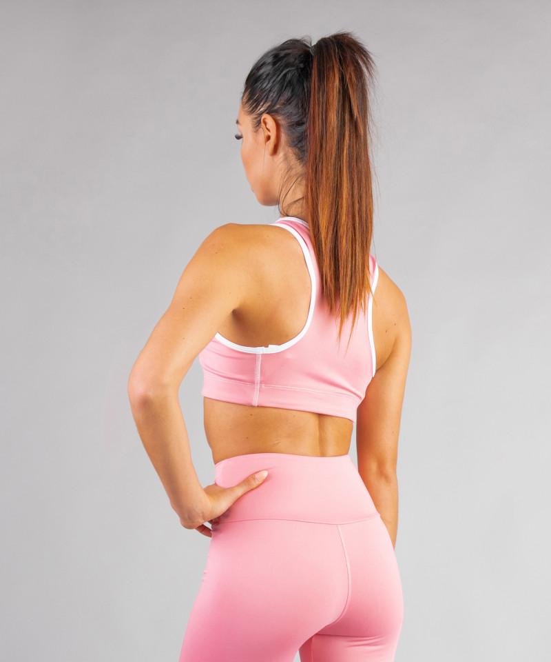Pastel Pink Classic Sports Bra 2