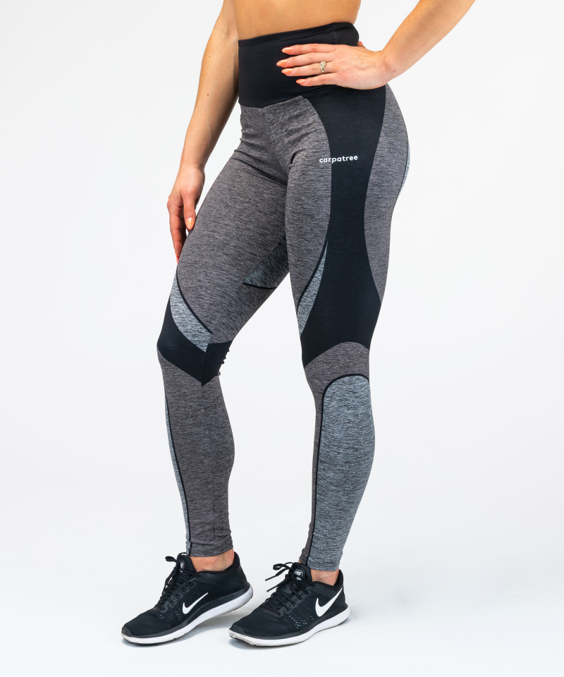 Black&Grey Electra Highwaist Leggings