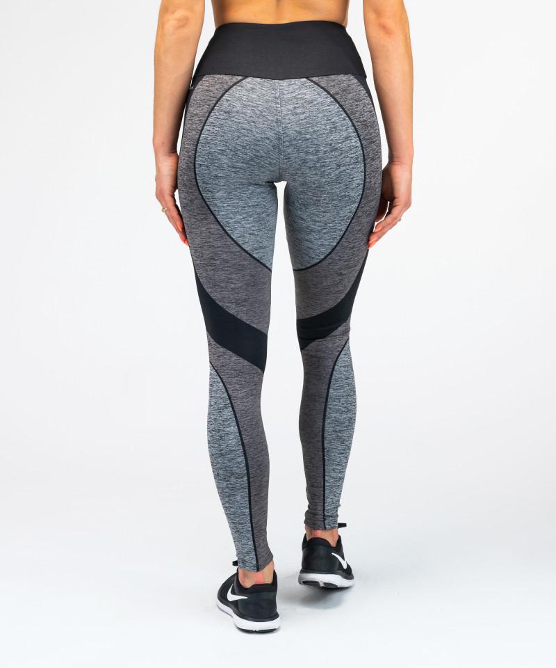 Black&Grey Electra Highwaist Leggings 5