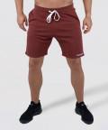 Burgundy Knit Shorts 1