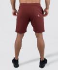 Burgundy Knit Shorts 4