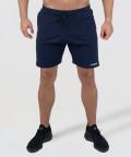 Navy Knit Shorts 1