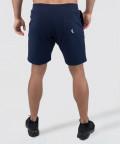 Navy Knit Shorts 4