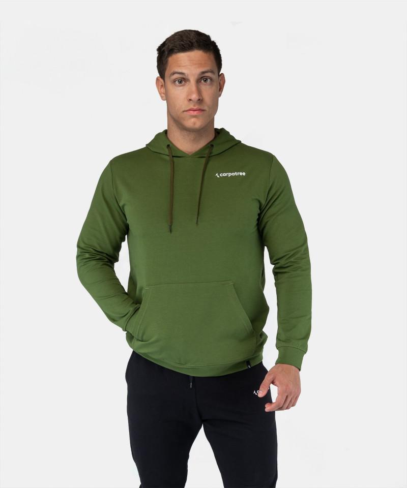 Zielona bluza z kapturem EnduraLight 1