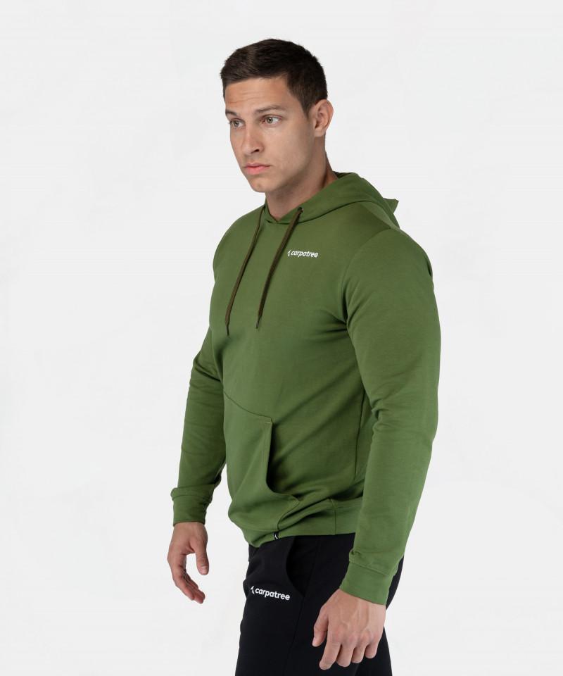 Zielona bluza z kapturem EnduraLight 3