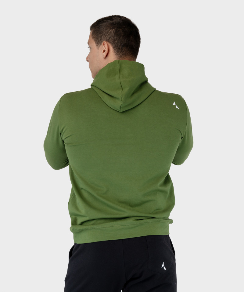 Zielona bluza z kapturem EnduraLight 4