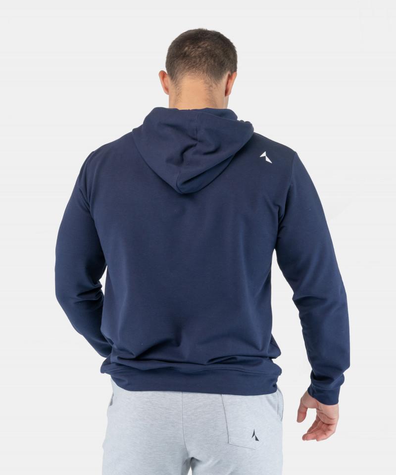 Granatowa bluza z kapturem EnduraLight 4