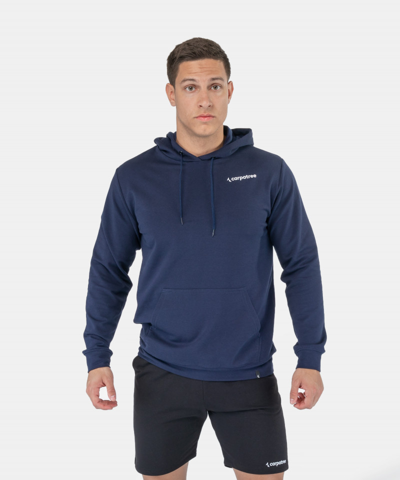 Granatowa bluza z kapturem EnduraLight 1