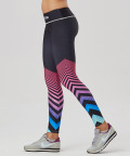 Multicolored Pinky Classic Leggings 2