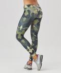 Green Camo Leggings mit regulärer Taille 3