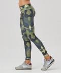 Green Camo Leggings mit regulärer Taille 2