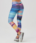 Multicolored Paradise Classic Leggings 3