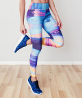 Multicolored Paradise Classic Leggings 4
