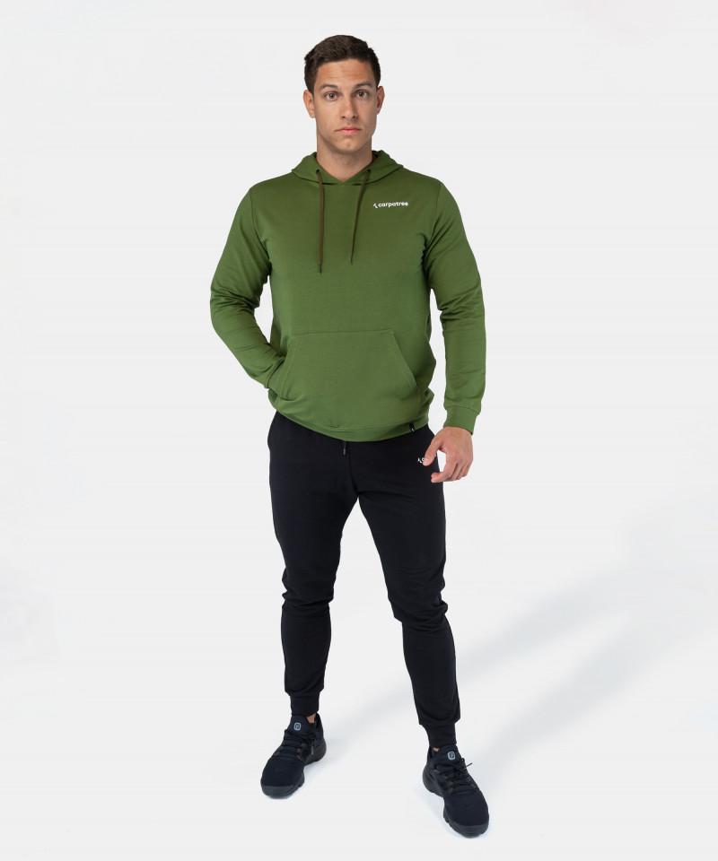 Zielona bluza z kapturem EnduraLight 2